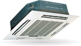 Commercial air-conditioners. Hydronic systems. Fancoil. 4-way cassette standard